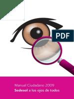 Manual Ciudadano SEDESOL