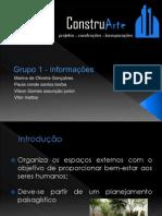 Informação - Paisagismo