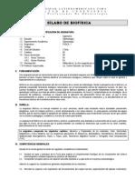 SYLLABUS DE BIOFÍSICA -CIMA - B