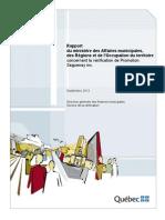 Vérification de Promotion Saguenay inc.