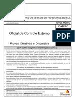 Simulado e Gabarito TCE Oficial de Controle Externo 2013