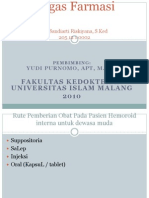 Hemoroid Usia Muda