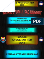 Majlis Anugerah Hem 2013