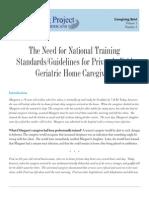2Caregiver Training
