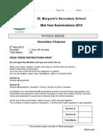 SMSS MYE 2012 4E Physics P2 QP.docx
