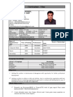 CV jitendra Kumar