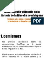 2. Historiografía y filosofía de la historia de la