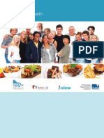 food model booklet - 4000 for health - 4000 4 vic web