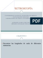 ESPECTROSCOPÍA