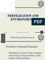 Fertilization Environmant