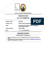 Answer Script-wound and Pain Management Formative Test-quiz 2 (July 13) (1)