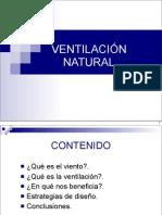 Lectura 02 VENTILACIÓN NATURAL