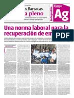 Autogestión N11 29/08/13 | Tiempo Argentino