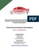 indonesia rally 2013, kejurnas rd 2