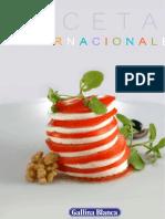 Recetario Cocina Internacional Gallina Blanca Jun'09
