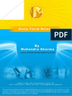 15 May 2013, Daily Flashnews With Day Trading Strategy & Ranges..