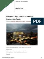 1-SESC – Ribeirão Preto – São Paulo