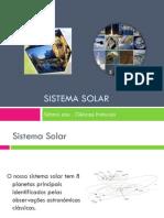 Apresentação nr. 2 - O Sistema Solar