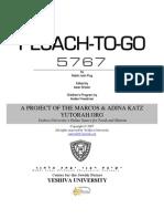YU Pesach-To-Go 5767