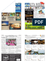 "Kuta Weekly-Edition 354 ""Bali's Premier Weekly Newspaper"""
