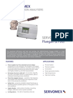 Servotough Fluegas 2700 Analyzer Brochure