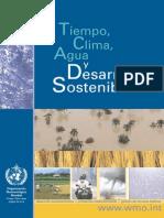 Tiempo Clima y Agua y Desarrollo Sostenible