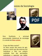Clássicos da Sociologia