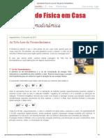 Aprendendo Física em Casa_ As Três Leis da Termodinâmica