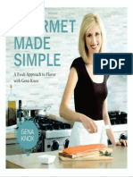 Gourmet Made Simple a Fresh Approach to Flavor With Gena Knox+OCR