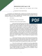 Coa Memo 88-569 Guidelines for Appraisal