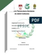 ANTOLOGIA DENDROMETRIA 2012-2