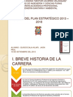 Plan Estrategico 2013 - 2018