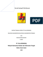 SISTEM TENAGA LISTRIK PT PLN (PERSERO) WILAYAH KALIMANTAN SELATAN & KALIMANTAN TENGAH