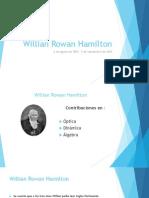 Willian Rowan Hamilton