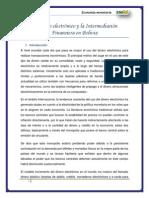 El dinero electrónico y la Intermediación Financiera en Bolivia.docx