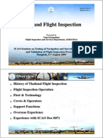 Thai Land Flight Inspection