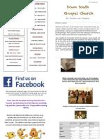 DSG Newsletter 29th Sept 2013