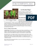 First Quarter 2009_ Newsletter