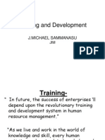 Trainning and Development
