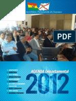 Agenda Departamental 2012