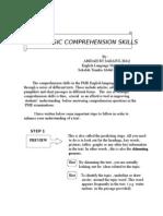 Strategic Comprehension Skills