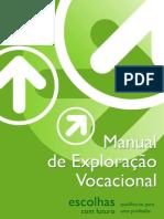 Manual para orientação profissional