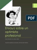 Ensayo Sobre El Optimista Profesional.