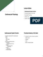 Cardiovascular Physiology -1