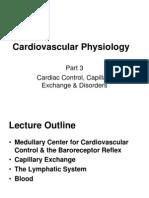 Cardiovascular Physiology -3