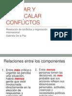 Escalar y Desescalar Conflictos(2)