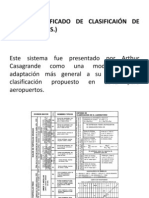 clasificación sucs