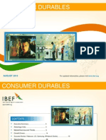 Consumer Durable - August 2013
