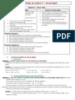 Fiche Méthode Second degré.pdf