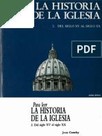 23826769 Comby Jean Para Leer La Historia de La Iglesia 02 (1)